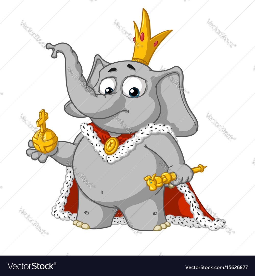 Big collection cartoon the proud king