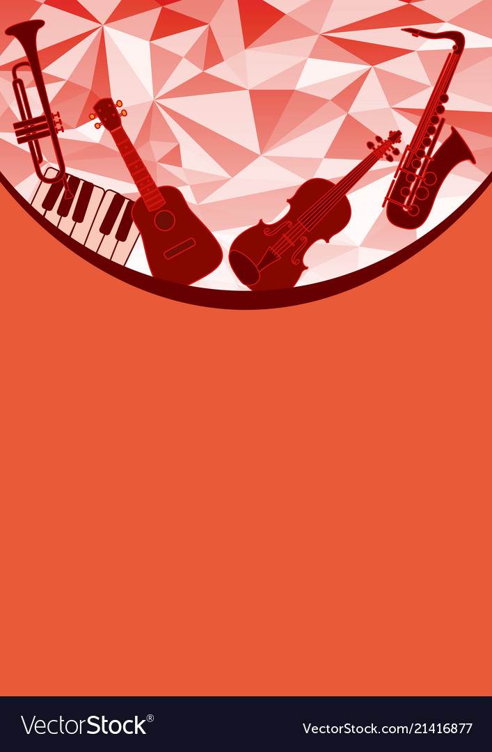Music instruments gift card