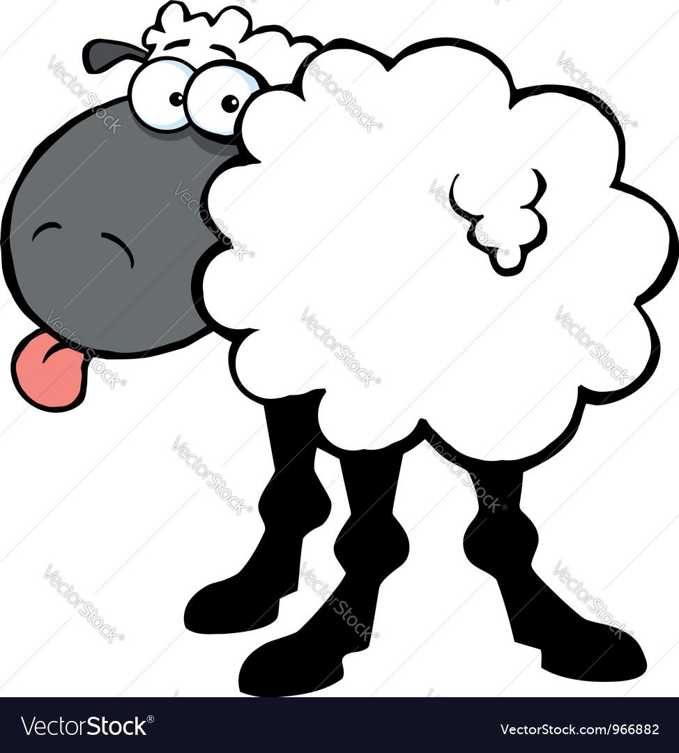 black barnyard sheep royalty free vector image rh vectorstock com ship vector art ship vector art
