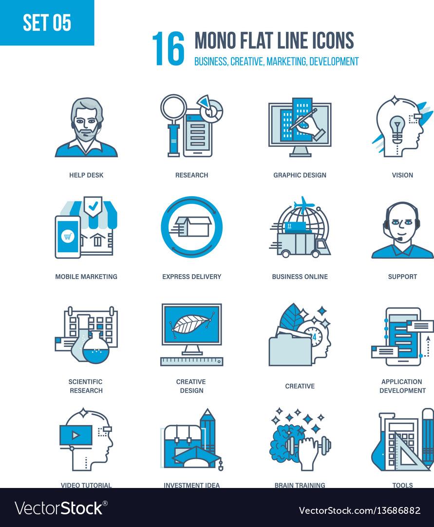Business creative marketing development design