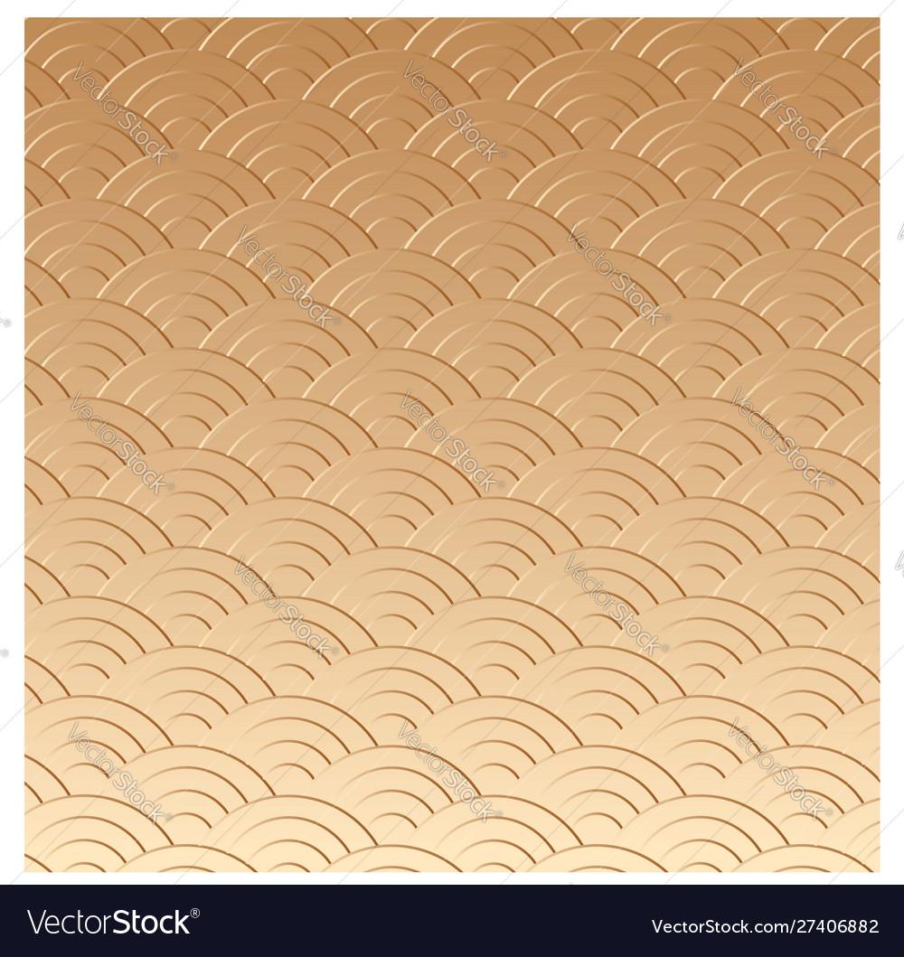 Gold oriental texture