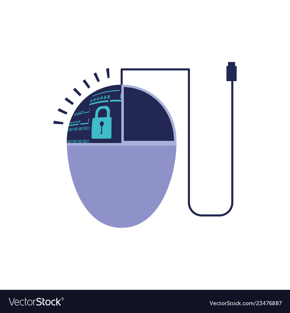 Mouse device computer isolated icon