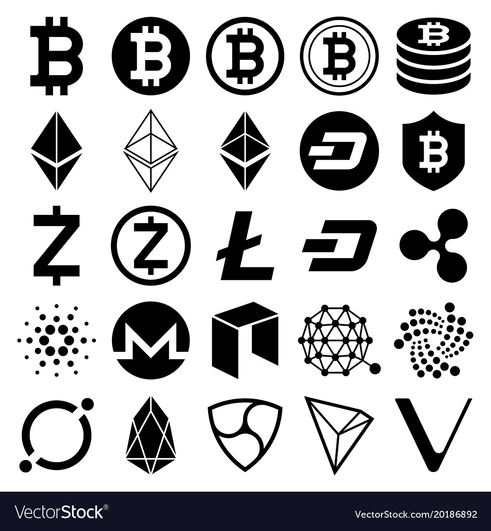 all cryptocurrency icons