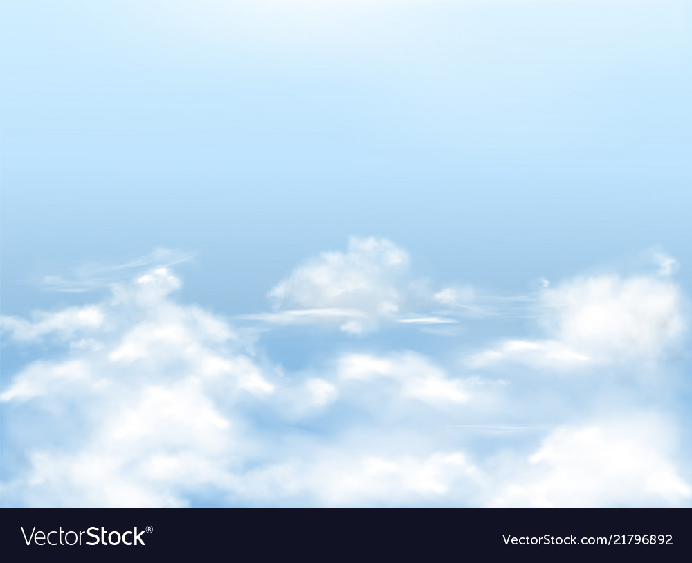 Light blue sky with clouds background