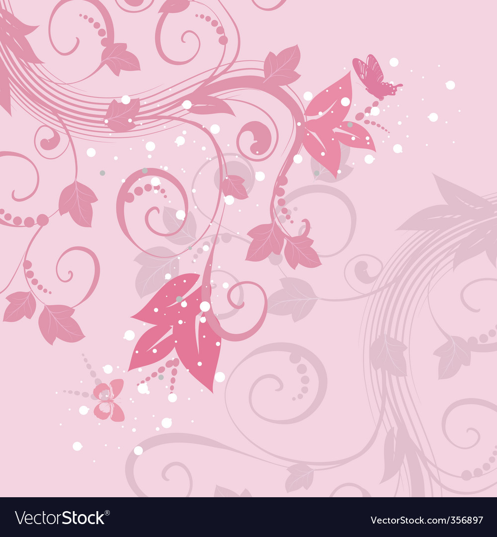 Abstract background of pink pattern vector image