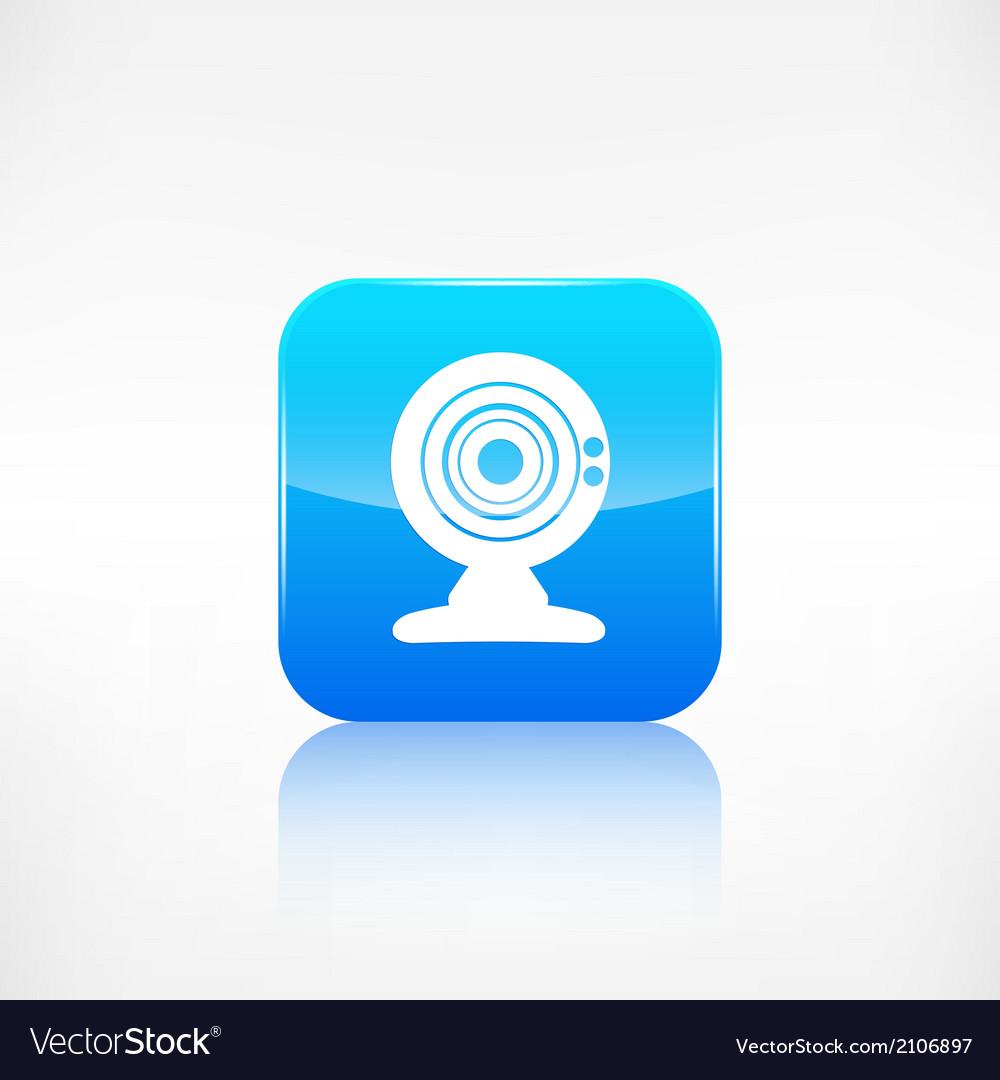 Web camera icon Application button