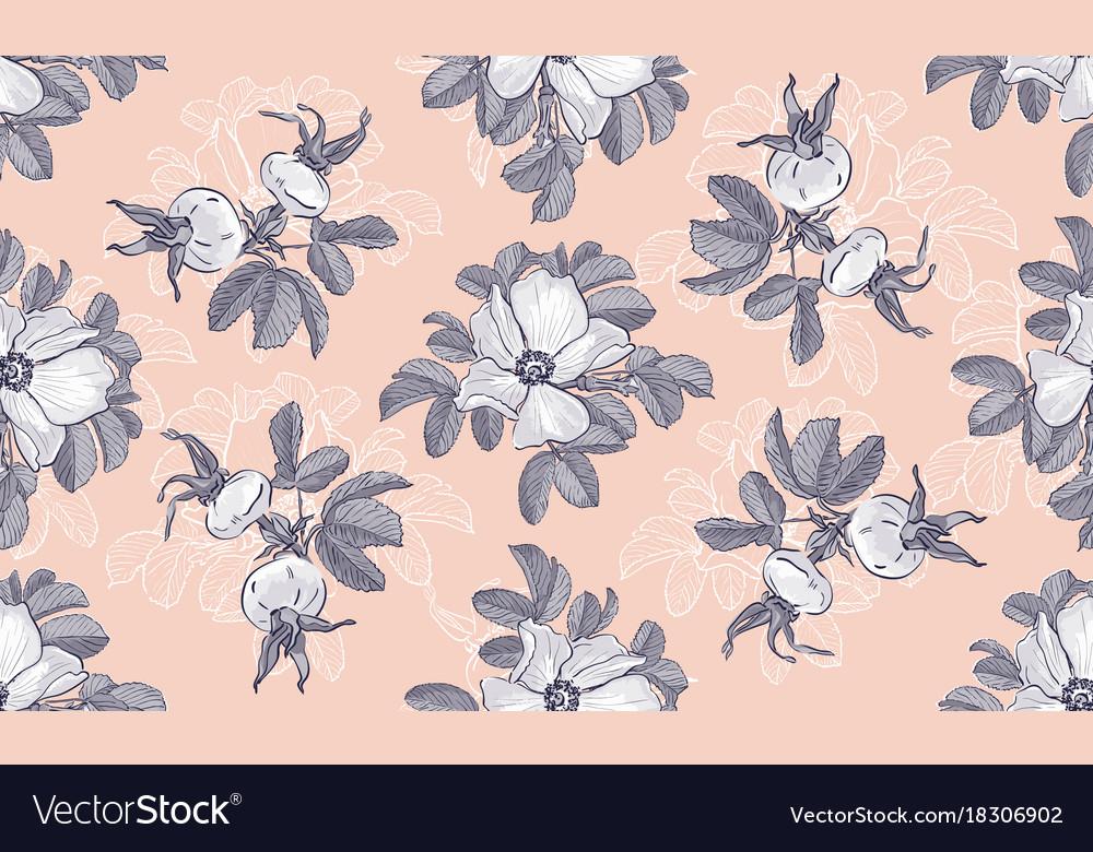 Site header blogging wild roses floral fashion