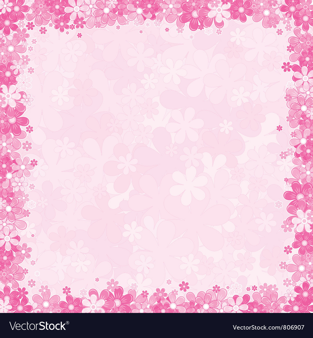 Loral Pink Background