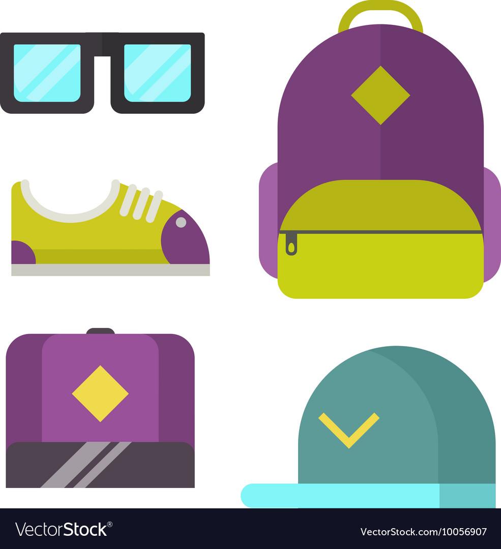 Modern clothes icon