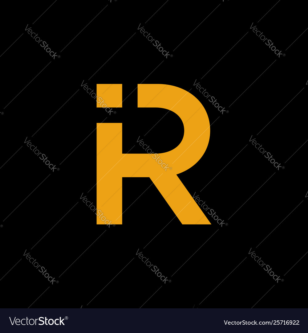 Ir logo design