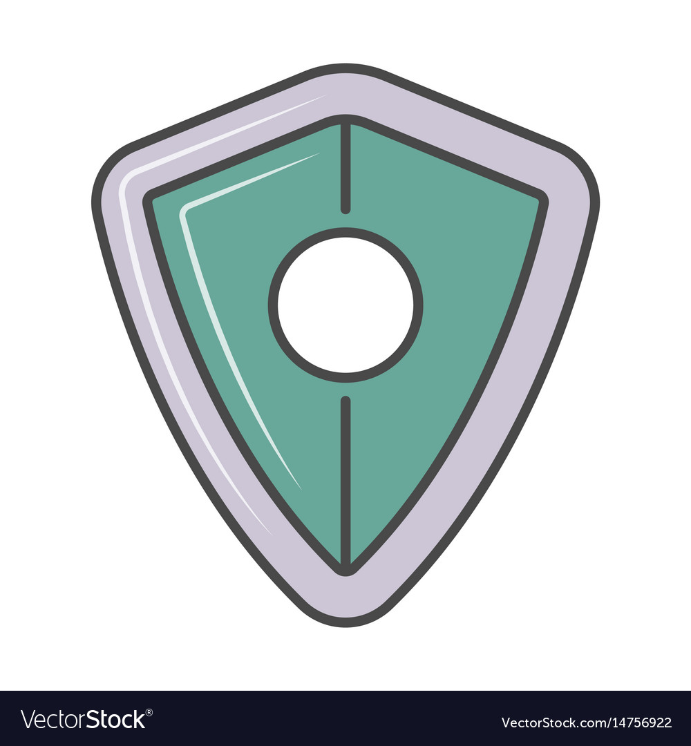 Security system isolated pictogram
