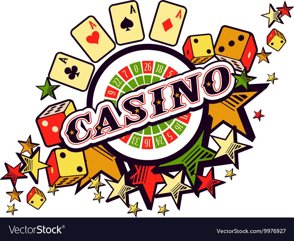 Casino logo on a white background