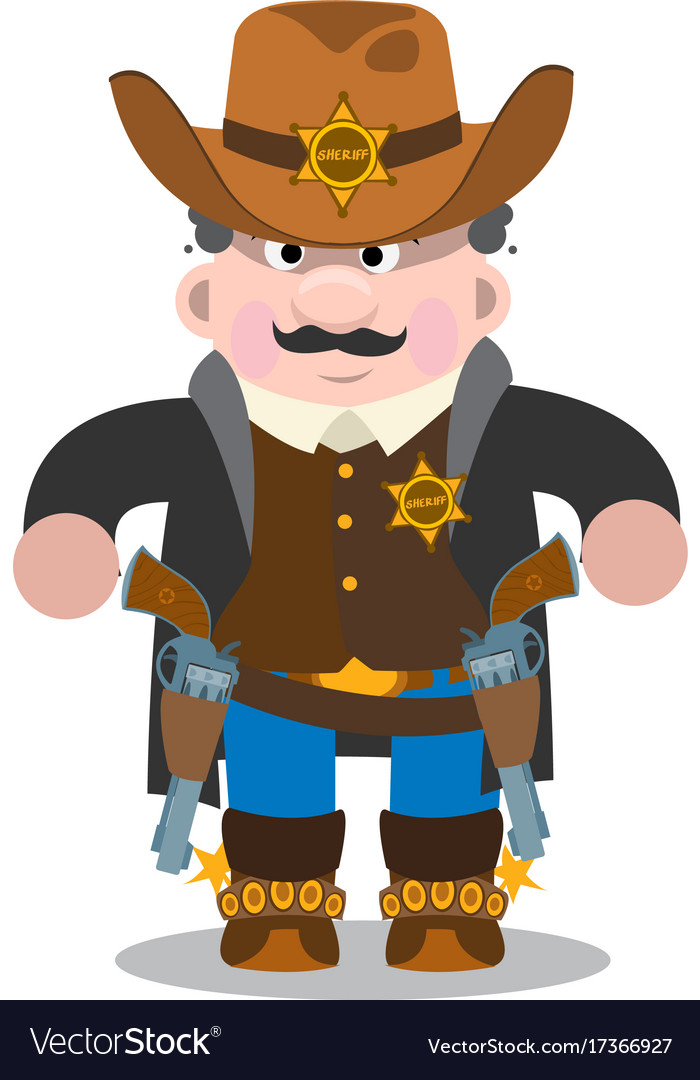 Sheriff a man in a suit of law enforcement bodies