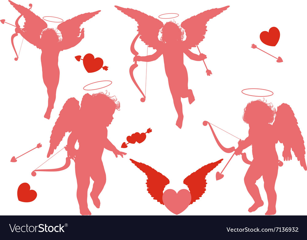 Four holiday cupid