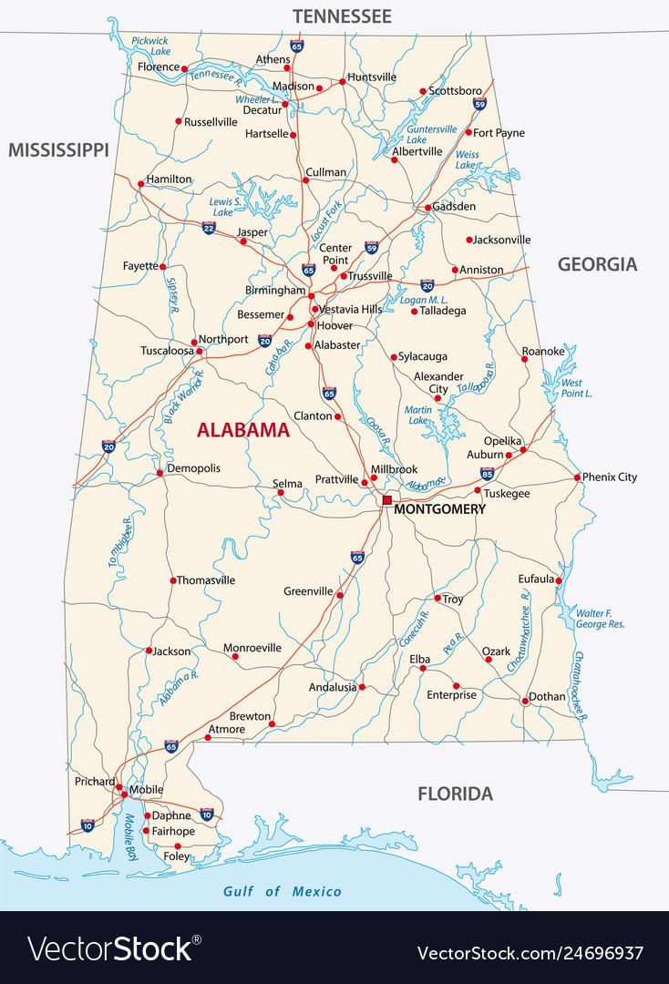 Alabama road map on maine map, delaware map, texas map, minnesota map, kansas map, maryland map, wisconsin map, hawaii map, michigan map, arizona map, new jersey map, nevada map, arkansas map, florida map, usa map, kentucky map, georgia map, louisiana map, gulf coast map, missouri map, ohio map, mississippi map, indiana map, iowa map, illinois map, south carolina map, california map, colorado map, montana map, oklahoma map, tennessee map,