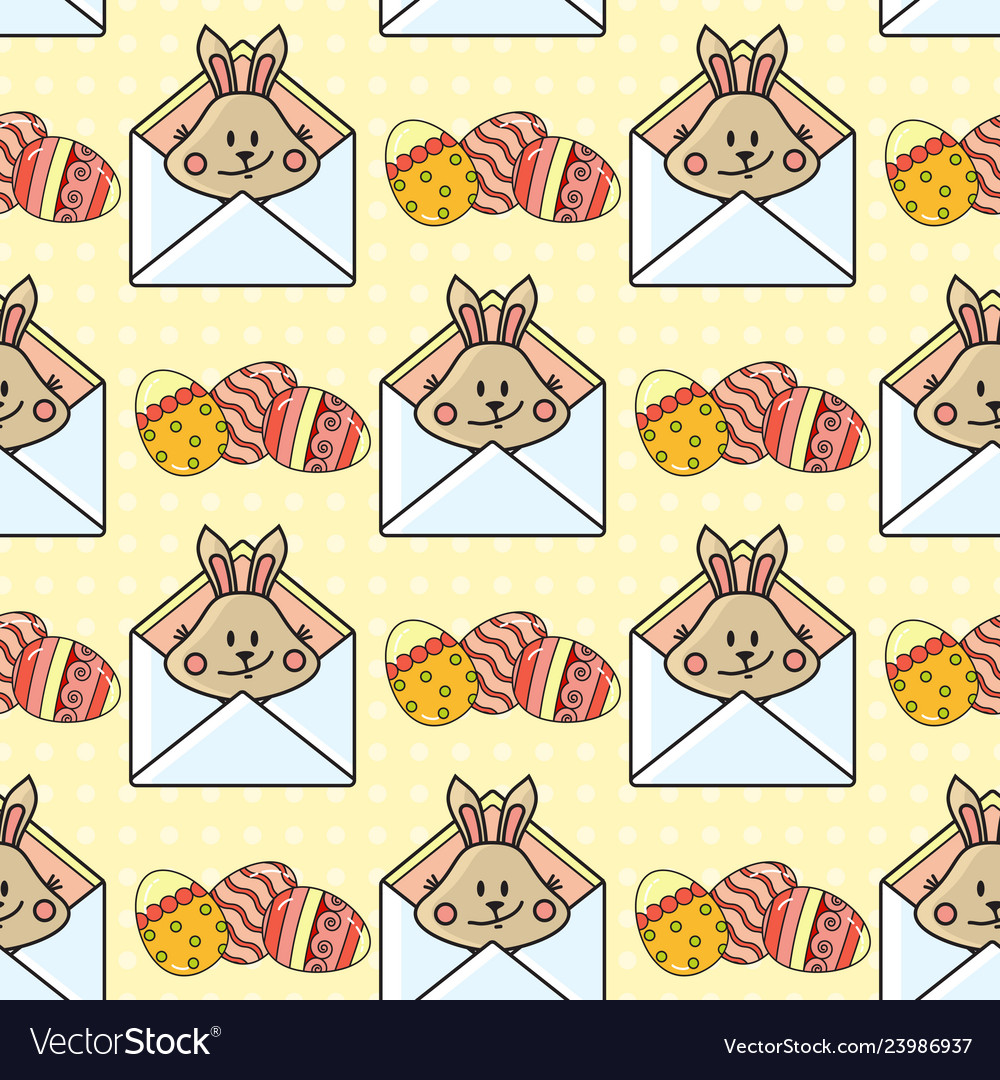 Easter holiday colorful background