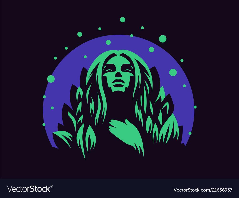 Nymph emblem