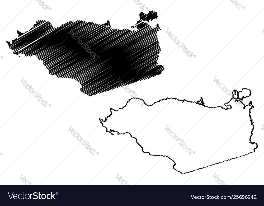 Contra costa county california map