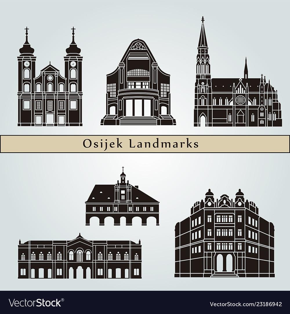Osijek landmarks
