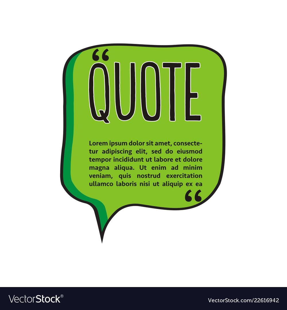 Quote talk logo