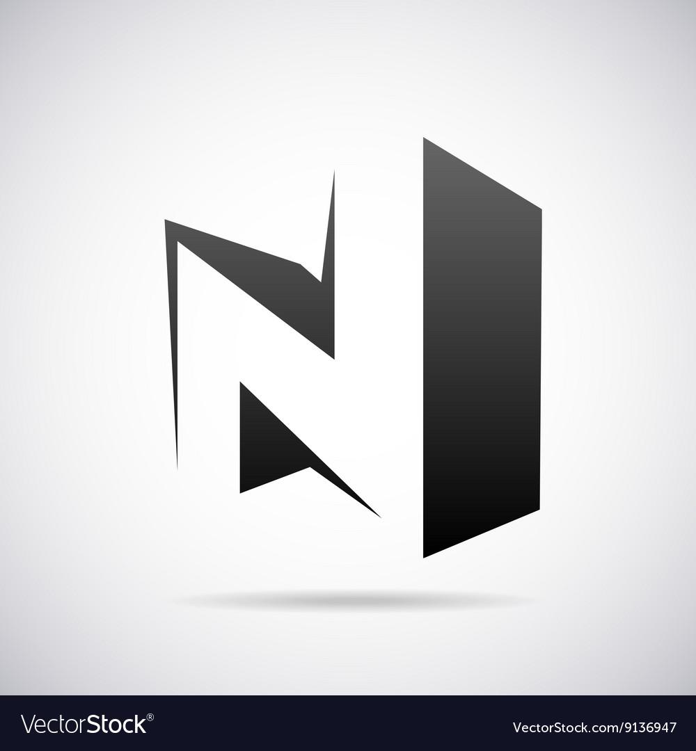 Logo for letter N Design template