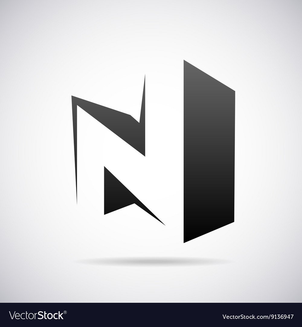 Logo for letter n design template royalty free vector image logo for letter n design template vector image maxwellsz