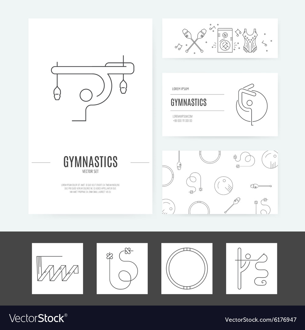 Rhythmic Gymnastics Business Set