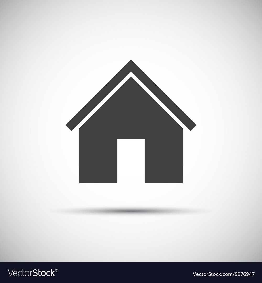 Simple home icon for your web design