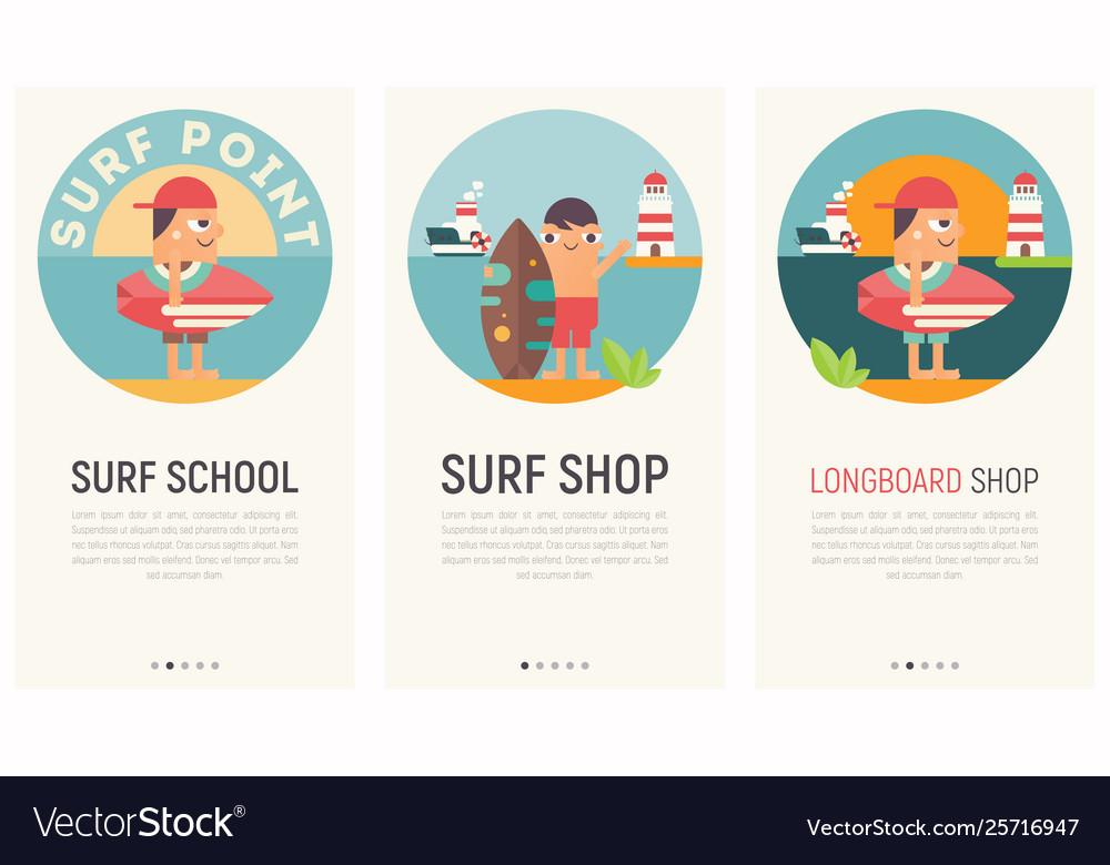 Surf mobile apps