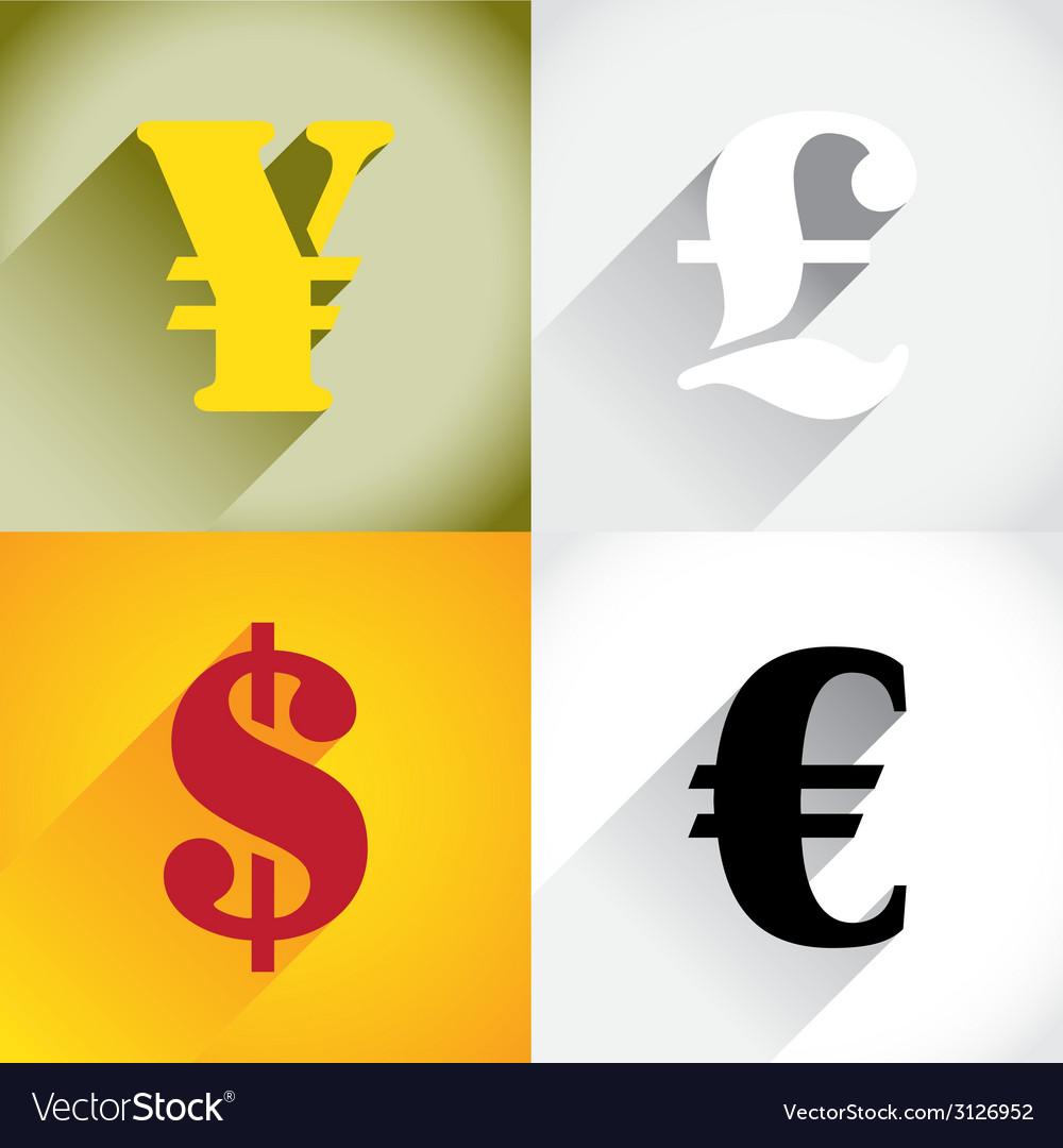 Euro Dollar Pound and Yen