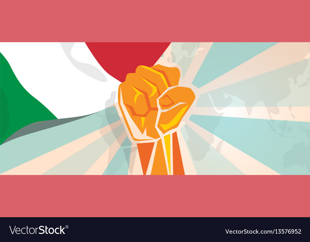 Italy fight and protest independence struggle