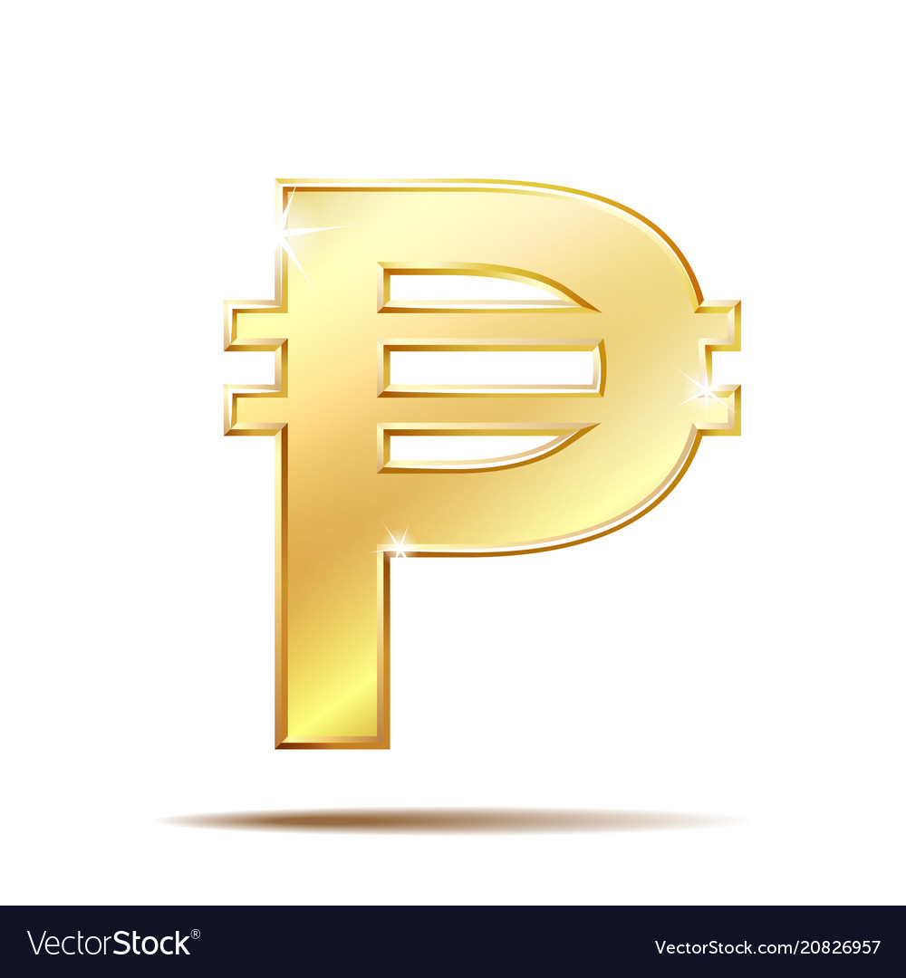 Philippine peso currency symbol