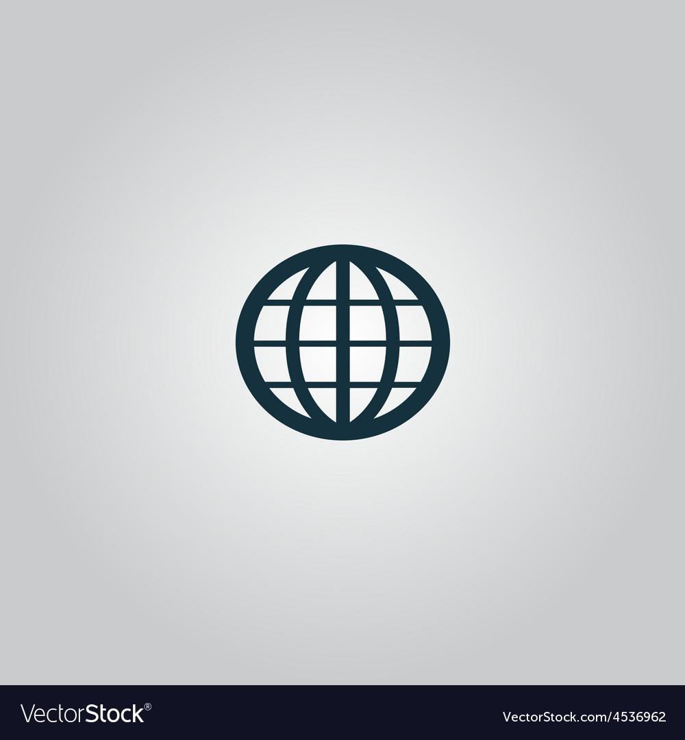 Earth Globe Emblem