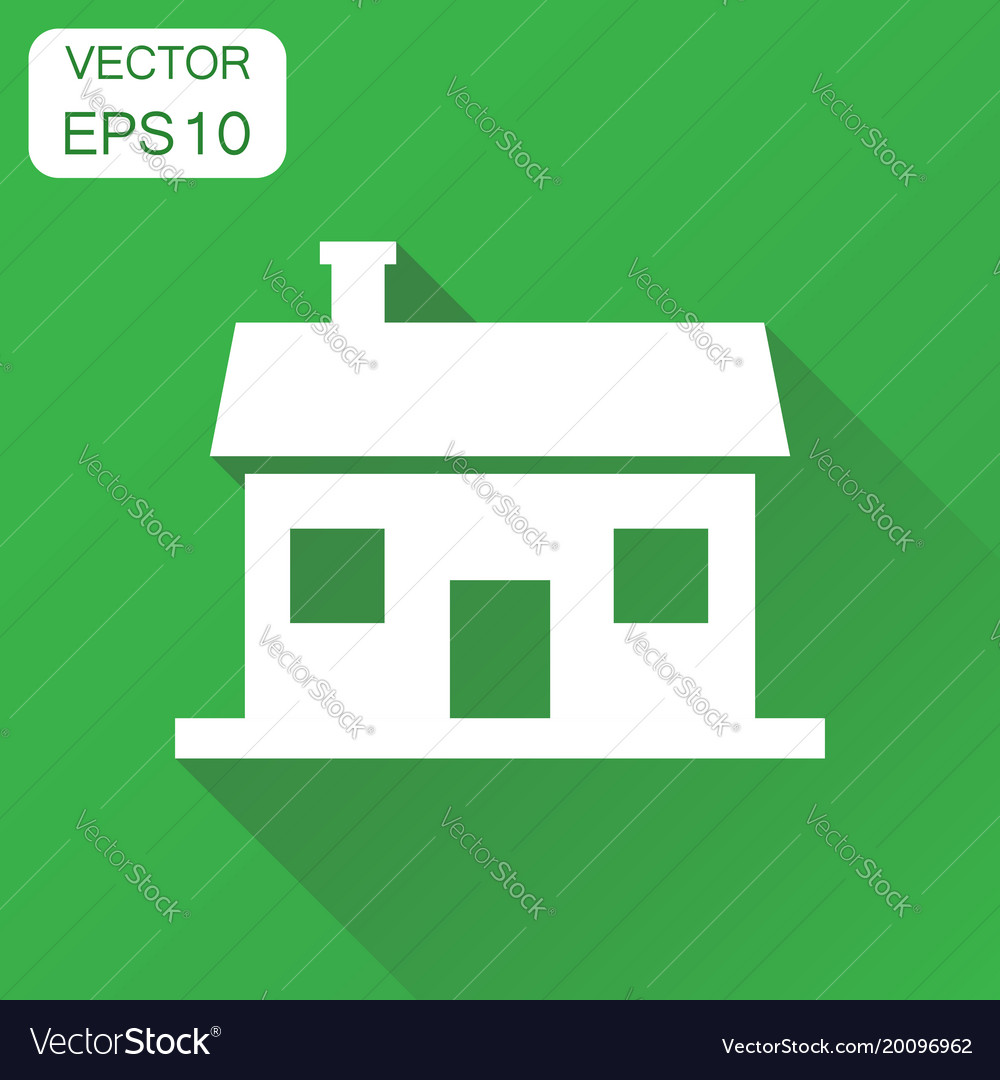 House icon business concept house pictogram on