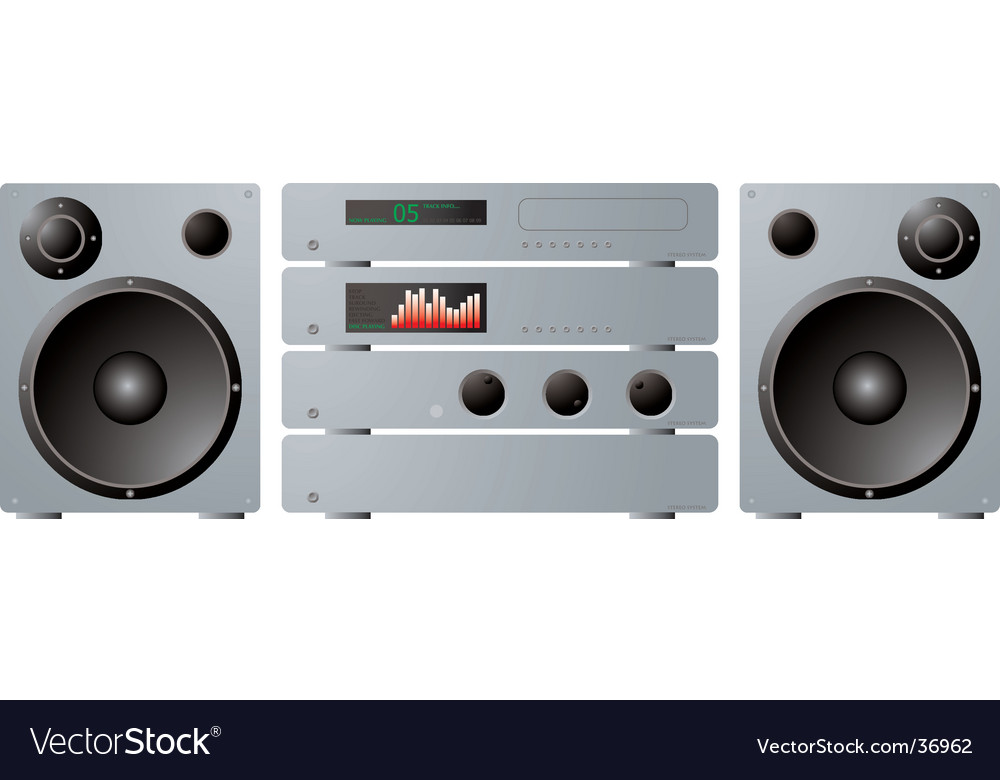 Stereo separates plus speakers