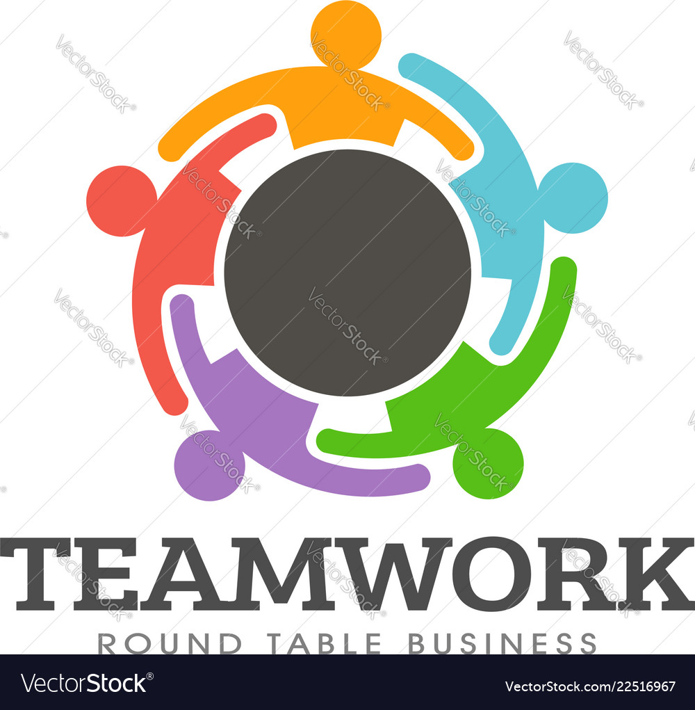 Teamwork round table logo