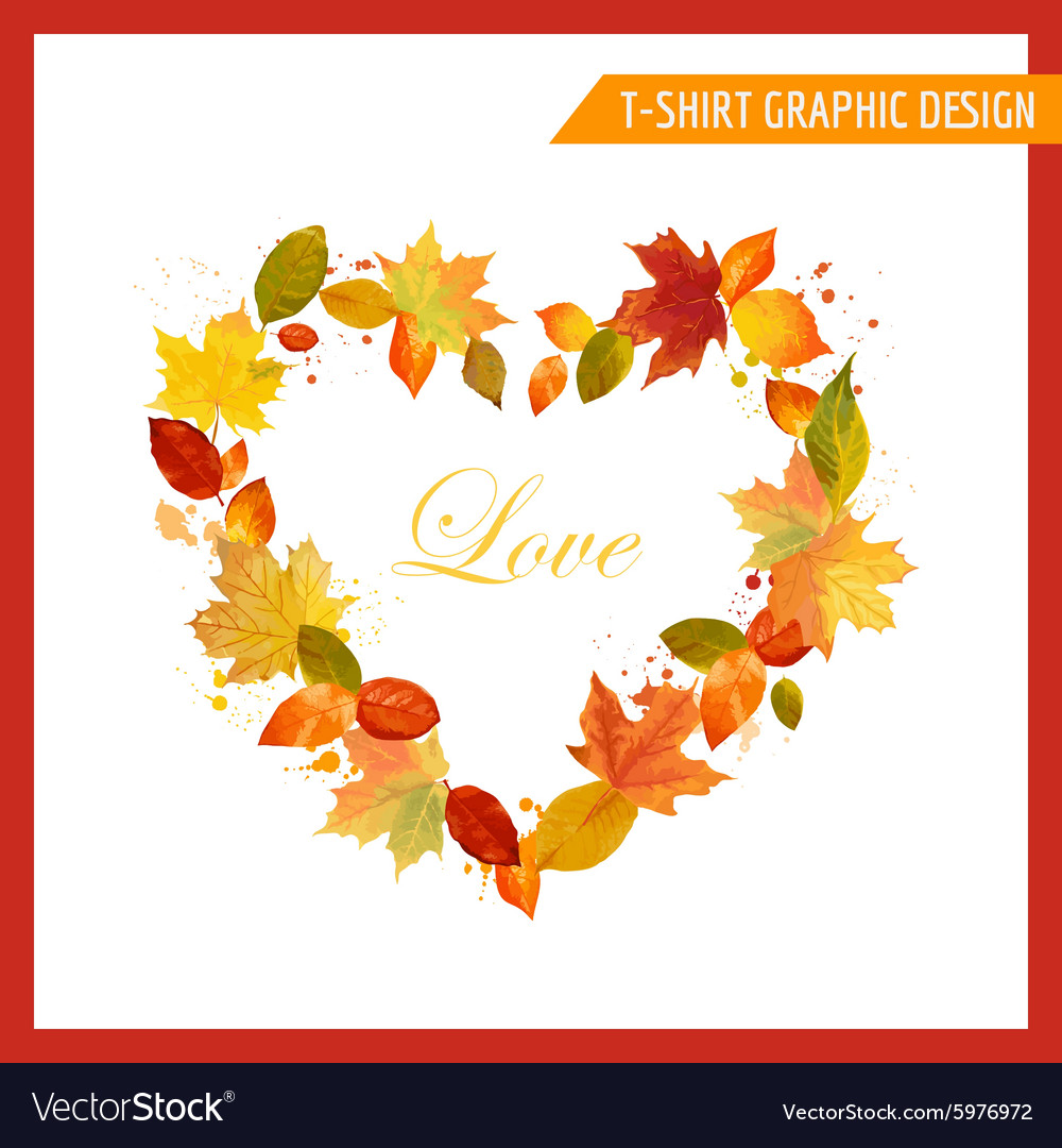 Autumn Shabby Chic Graphic Design
