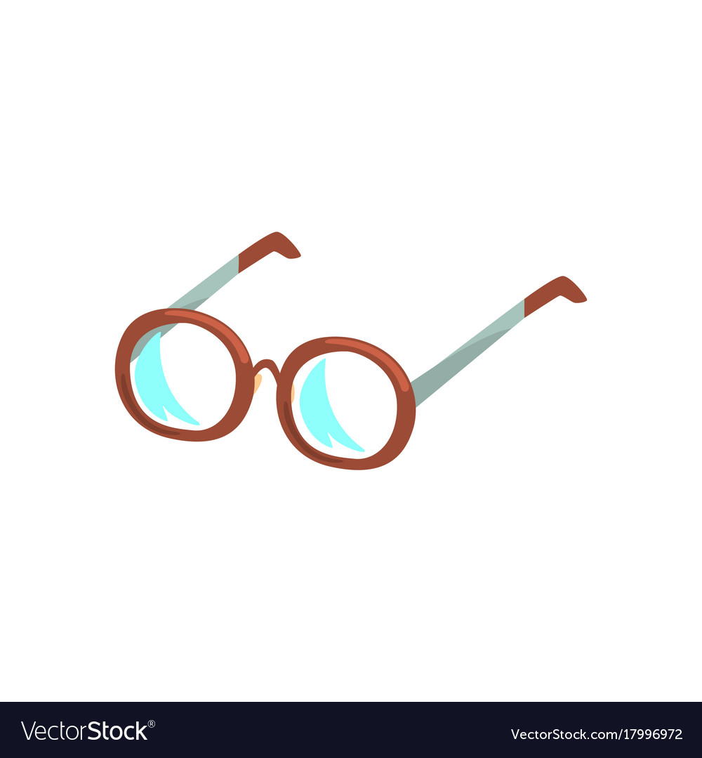 Glasses cartoon