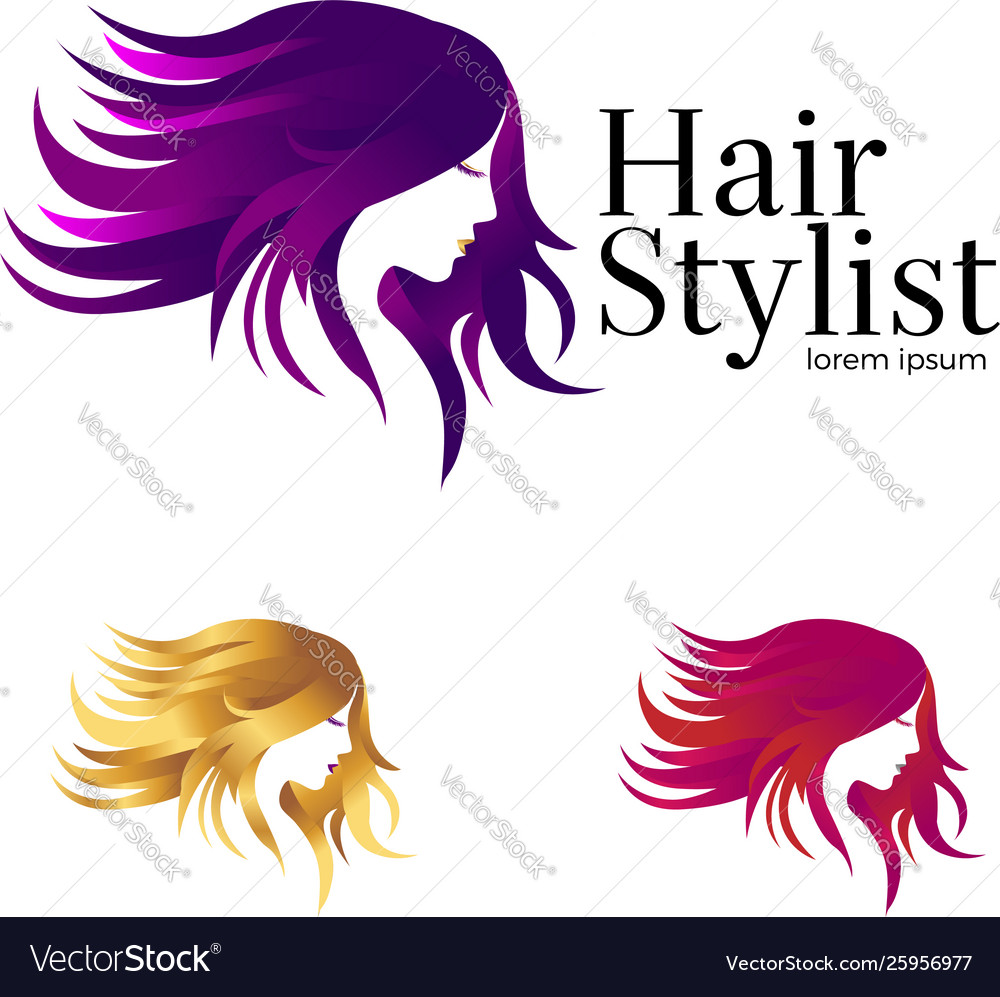 Beauty treatment business logo template