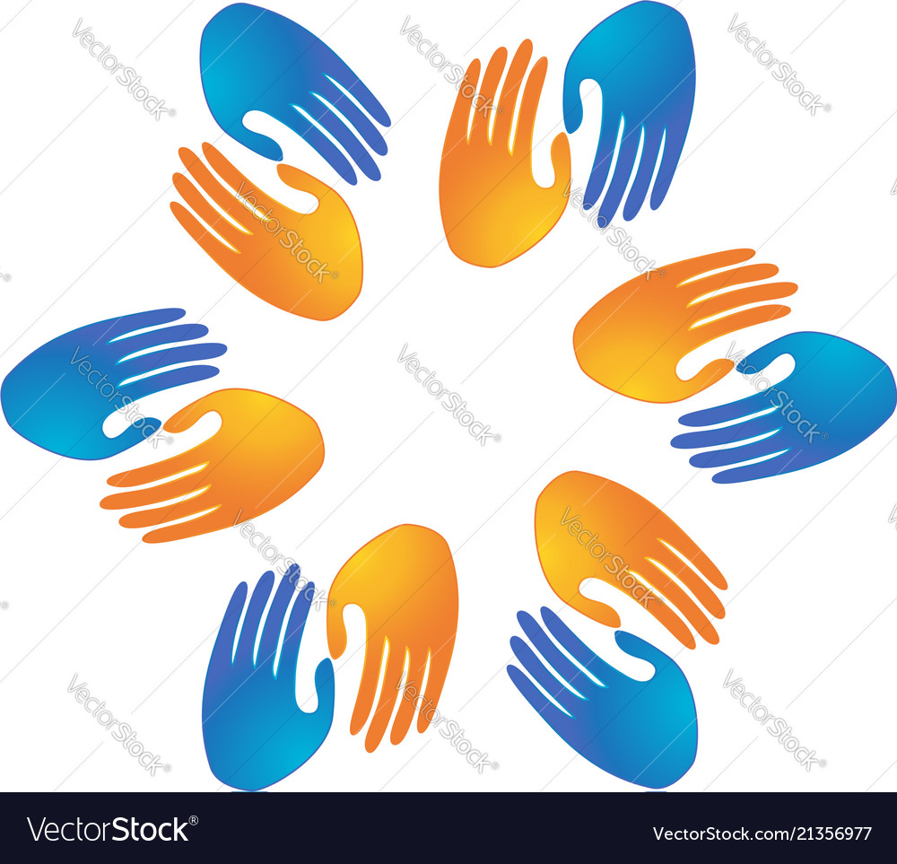 Handshake partnership business logo symbol