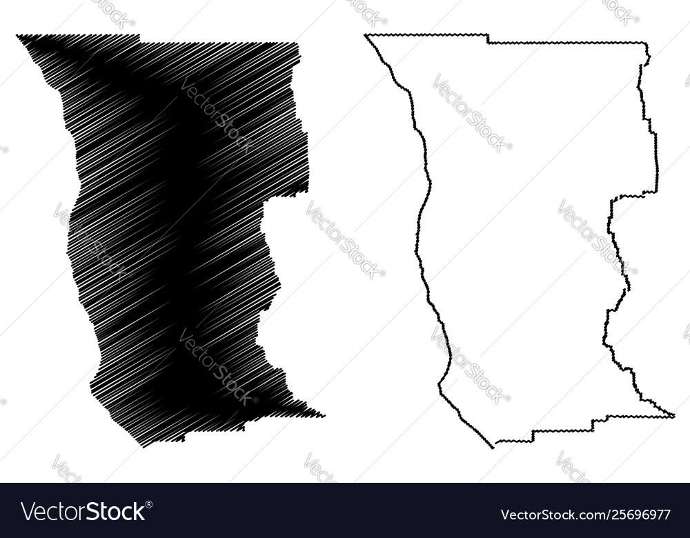 Counties In California Map.Mendocino County California Map