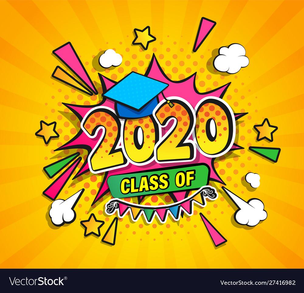 Graduation Background 2020.Class 2020 Graduation Banner