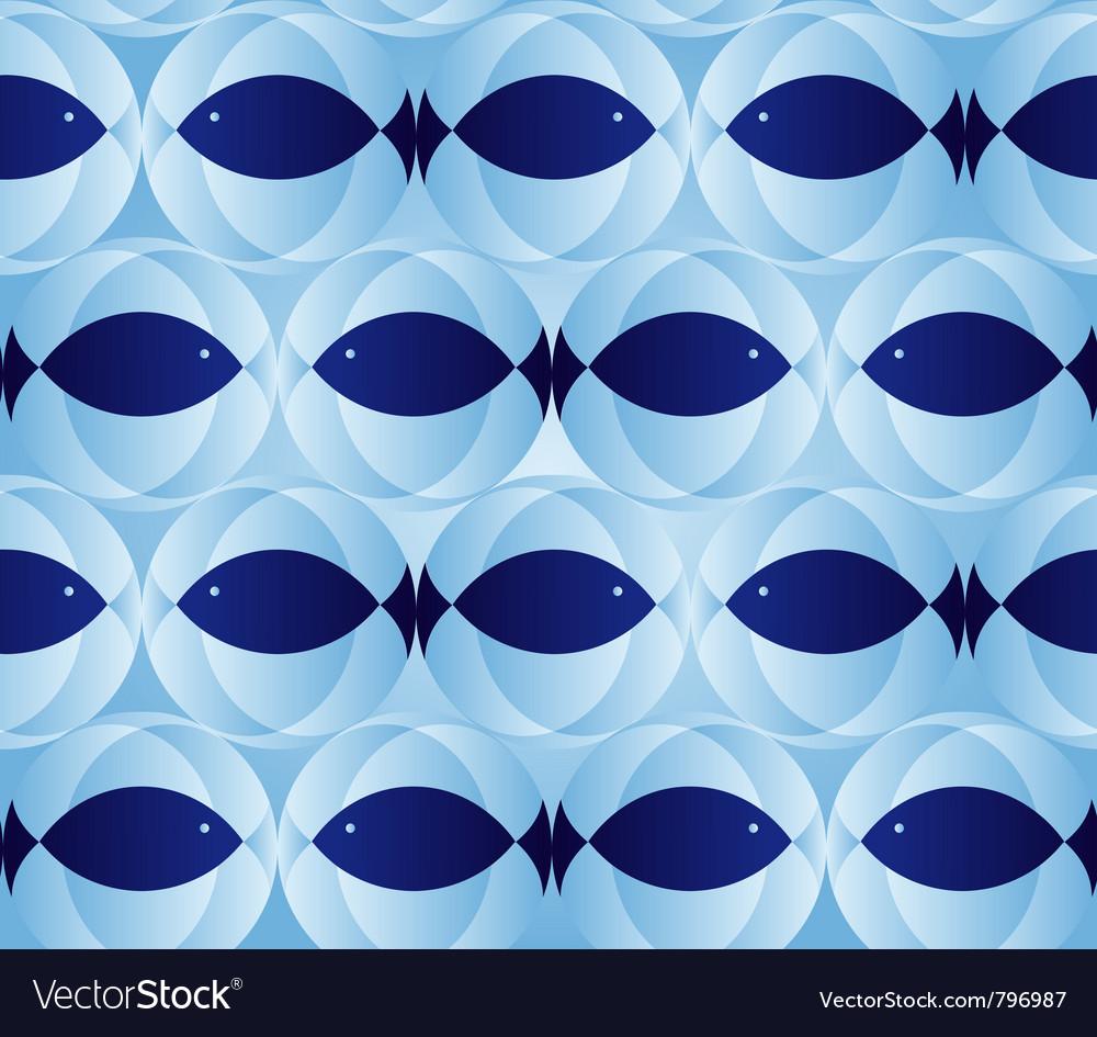 Blue seamless patter