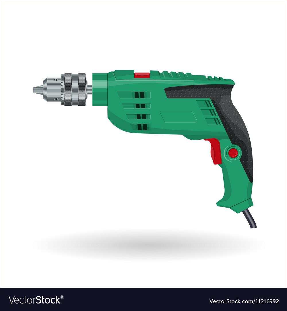 Electric drill realistic