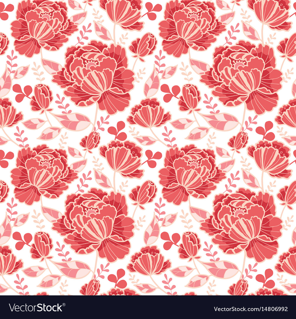 Salmon pink and yellow decorative roses and