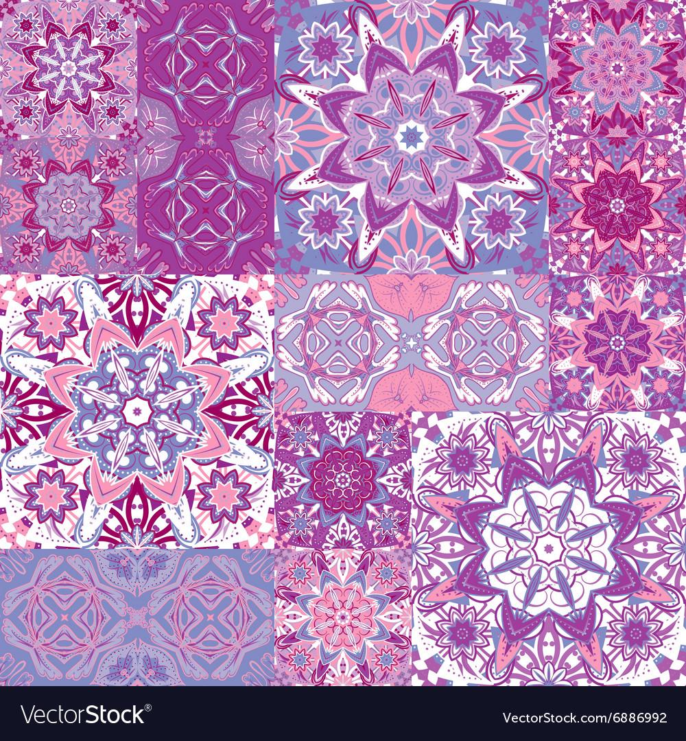 Set of seamless pattern Seamless abstract pattern