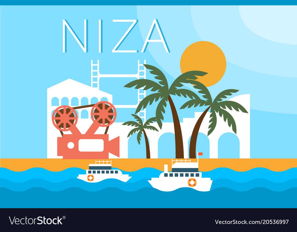 Niza travel landmarks city architecture