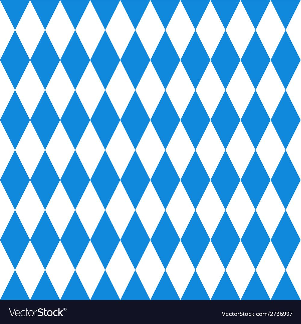 Oktoberfest background Bavarian flag pattern