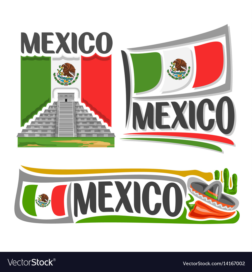 Logo for mexico vector image