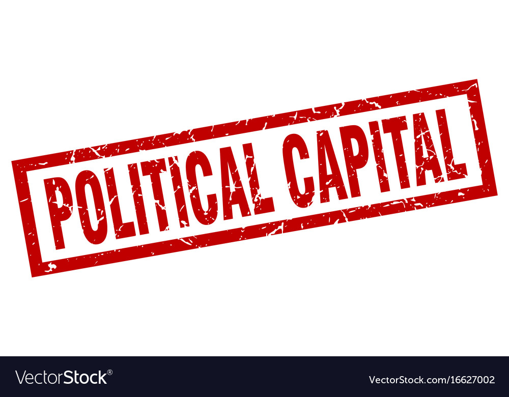 Square Grunge Red Political Capital Stamp Vector Image